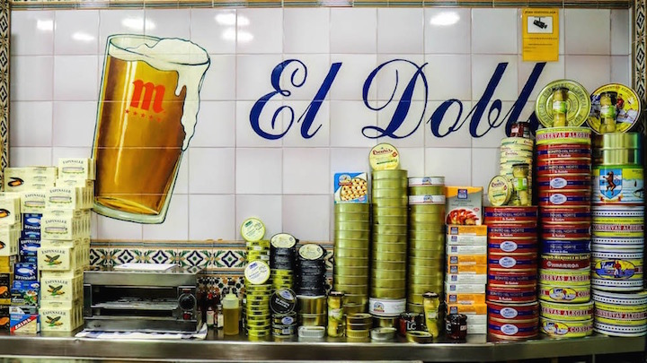El Doble, taberna en Ponzano. Bares castizos de Madrid