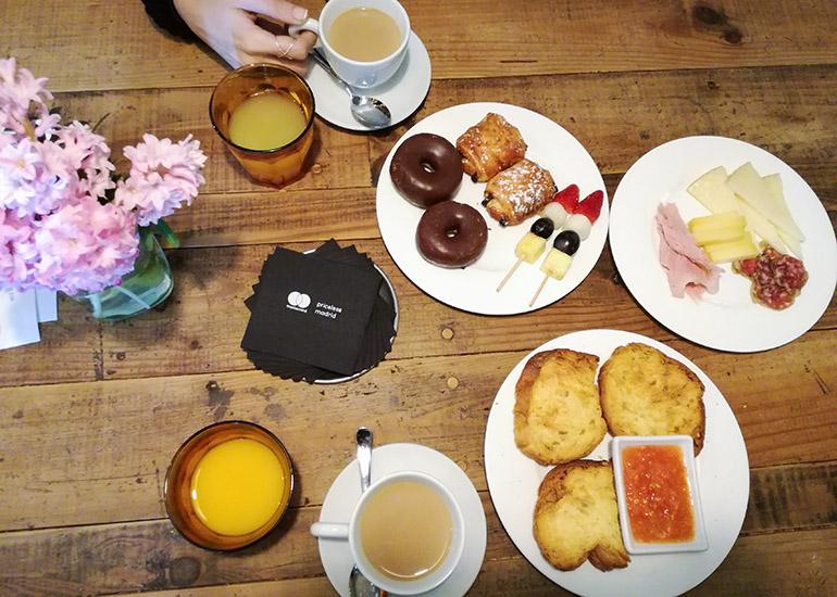 Experiencia MasterCard. Experiencia Priceless desayuno en Arzábal
