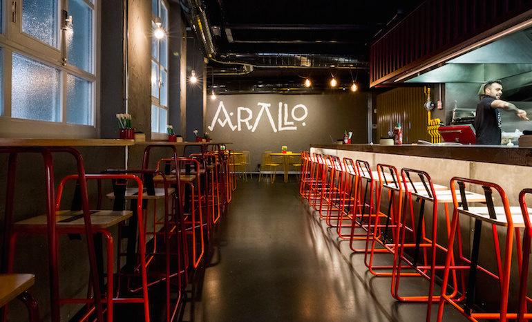Arallo taberna restaurante fusi n cocina gallega cerca de - Cocina gallega en madrid ...