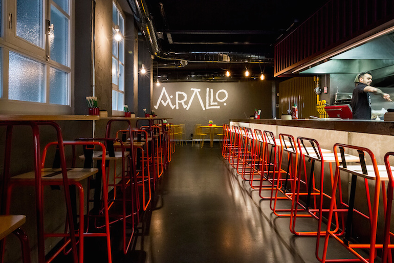 Arallo taberna restaurante fusi n cocina gallega cerca de for Cocina gallega en madrid