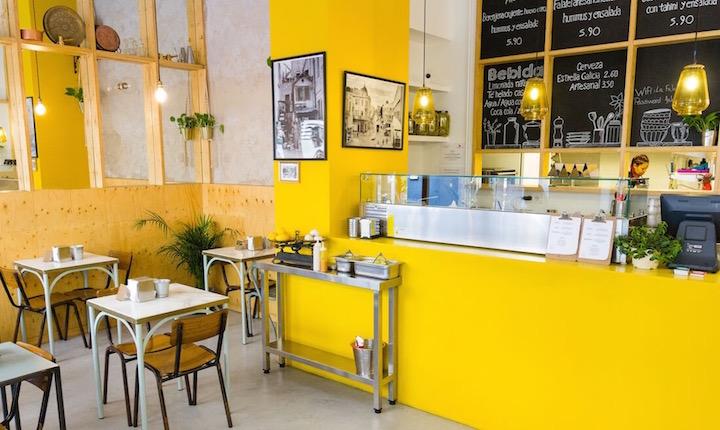 La Falafelería, cocina healthy de Israel a Malasaña