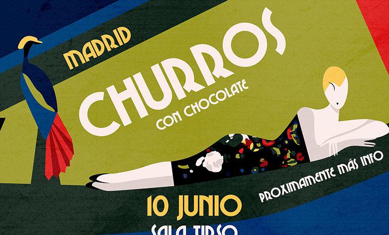 churros con chocolate madrid fiesta