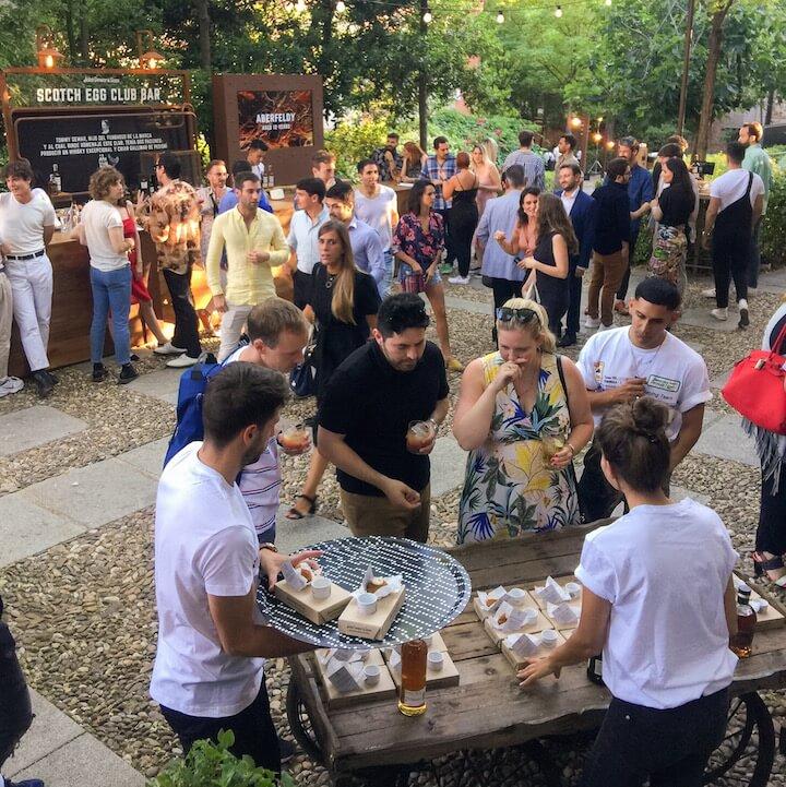 DEWARS SCOTCH EGG CLUB la fiesta foodie del verano