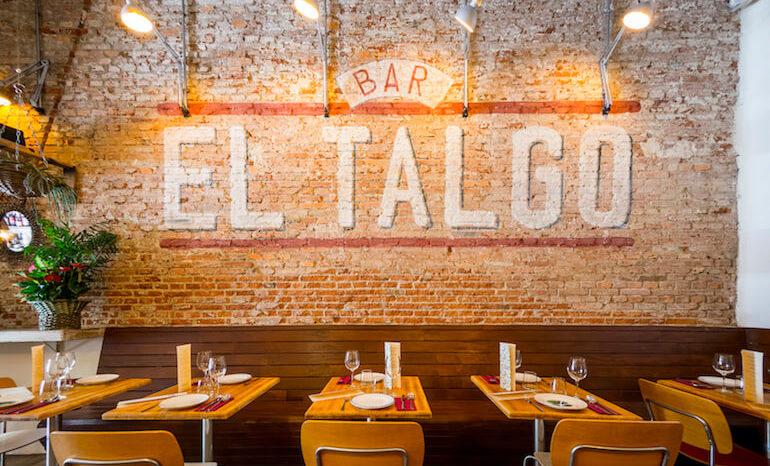 Talgo bar restaurante de tapas tradicionales en la zona - Decorar un bar de tapas ...