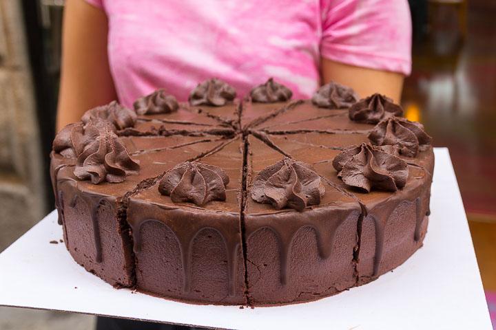 Freedom cakes, pastelería y diner vegano