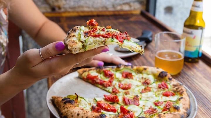 Hot Now pizzería romana y napolitana en el barrio de Chueca