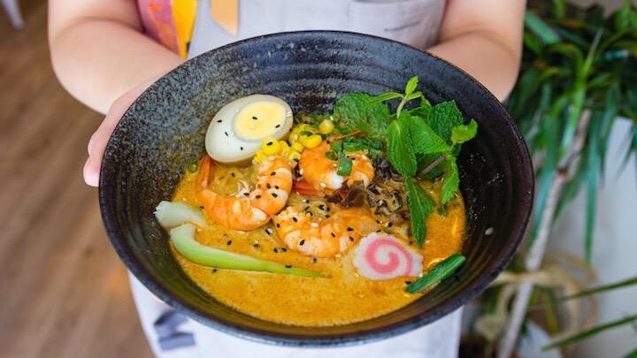 127 Taipe Bar, restaurante de comida taiwanesa en el barrio de Las Letras