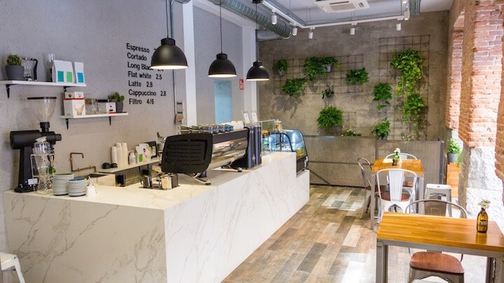 The Fix, café de especialidad y brunch en la zona de Plaza de España