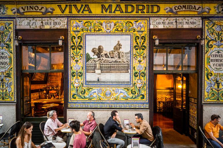 Viva Madrid, alta coctelería de Diego Cabrera en el Barrio de las Letras