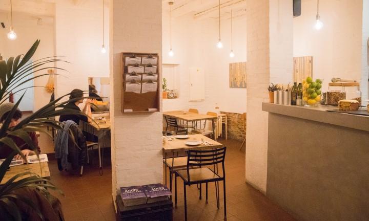 Plenti Café Local Interior