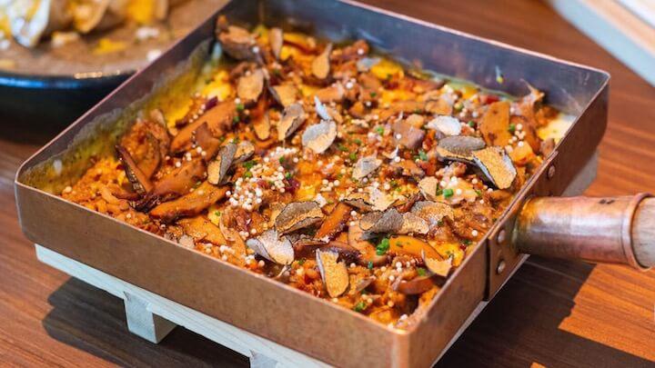 UMO Restaurante Tamago de otoño