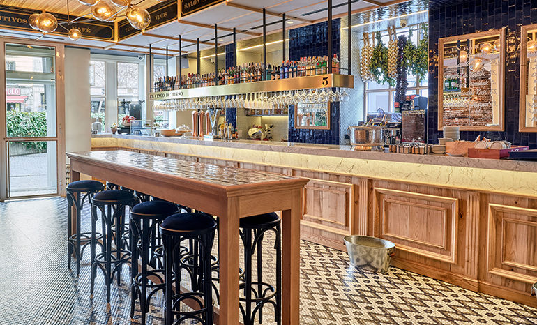 El 5 De Tirso El Elegante Del Barrio Restaurantes En Madrid