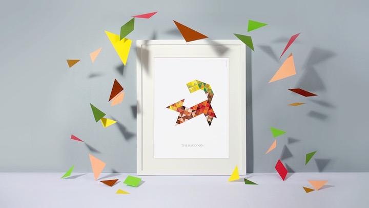 Raquel Torres Design posters de animales