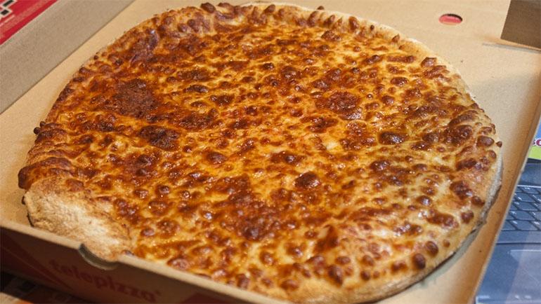Telepizza cuatro quesos