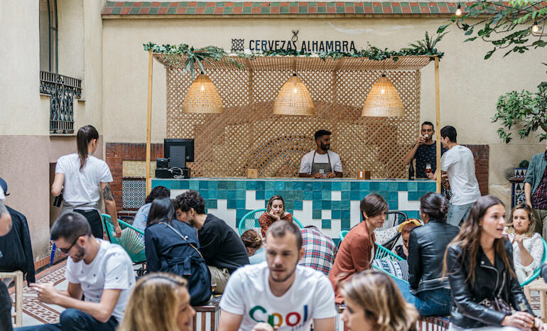 Programación Jardín Cervezas Alhambra 1 15 Junio Terraza
