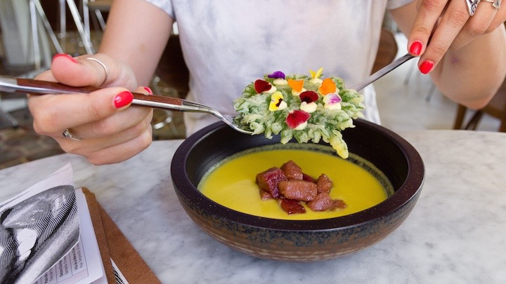 La Burlona, cocina tradicional renovada en Lavapiés