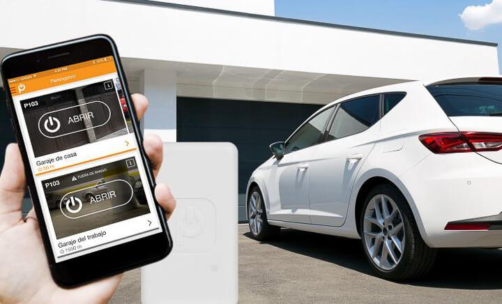 Sin mandos ni llaves: abre el garaje con tu móvil