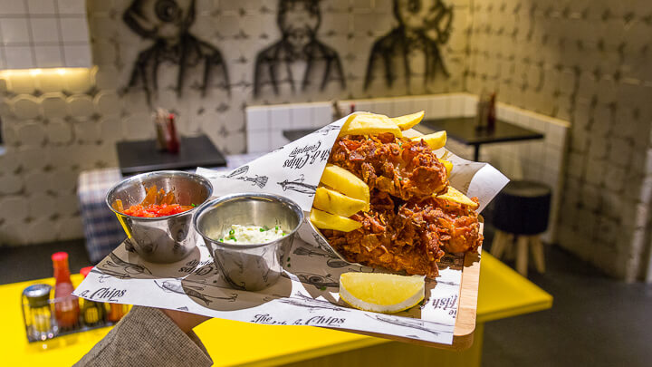 The Fish & Chips Company, british street food en versión premium