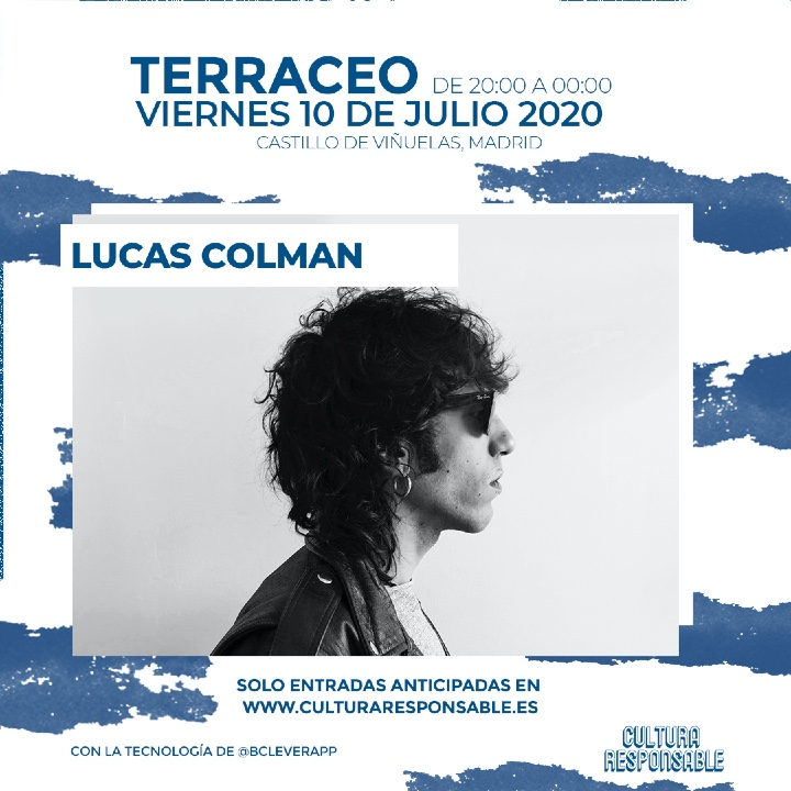 Lucas Colman presentará su nuevo disco en el Cultura Responsable