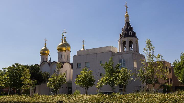 Catedral Ortodoxa Rusa de Santa Maria Magdalena, Rusia