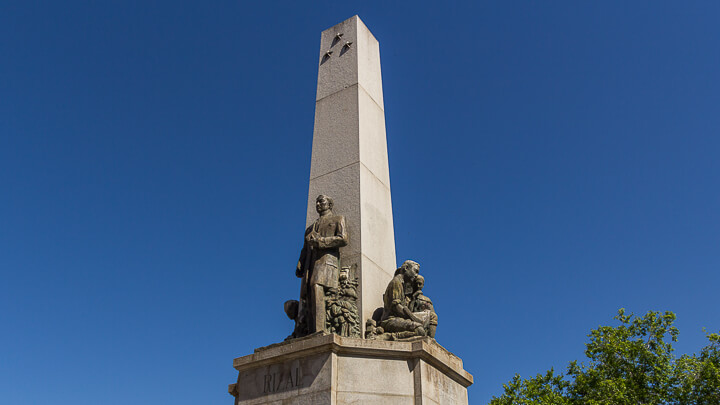 Monumento a José Rizal, Filipinas