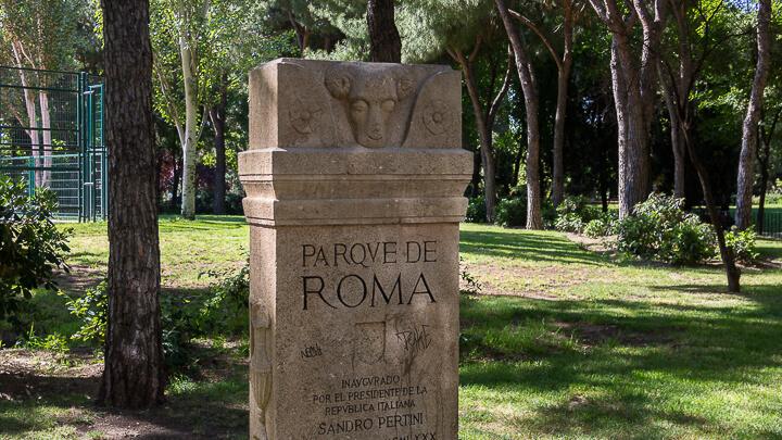 PARQUE DE ROMA, ITALIA