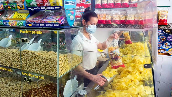 TETUAN Churreria Pepita patatas fritas