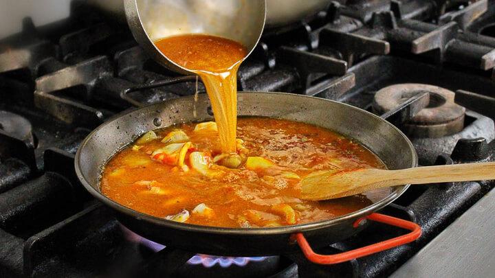 Arrocería Formentera arroz caldoso