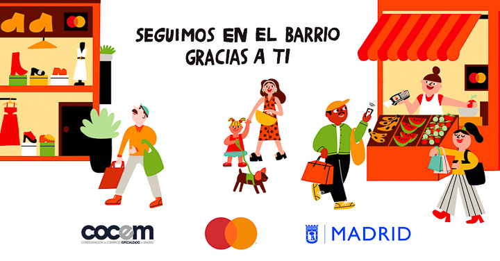 Apoyar al pequeño comercio tiene premio con Mastercard