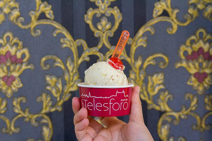 San Telesforo, helados con sabor a repostería