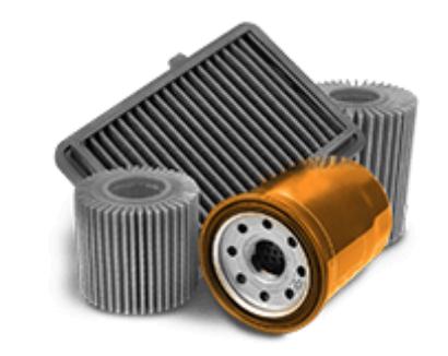 filtros automotrices
