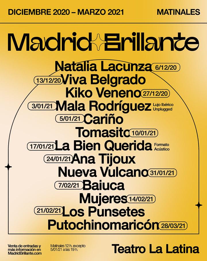 CARTEL MADRID BRILLANTE