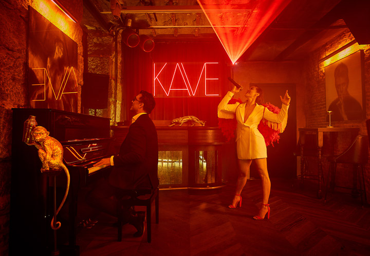 The Kave, la coctelería clandestina inspirada en La Divina Comedia