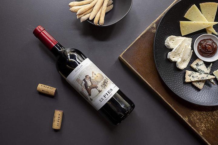 22 pies, un moderno Rioja con el que disfrutar compartiendo en torno a la mesa