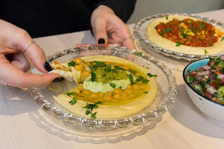 Barganzo, cocina Israelí en Chueca