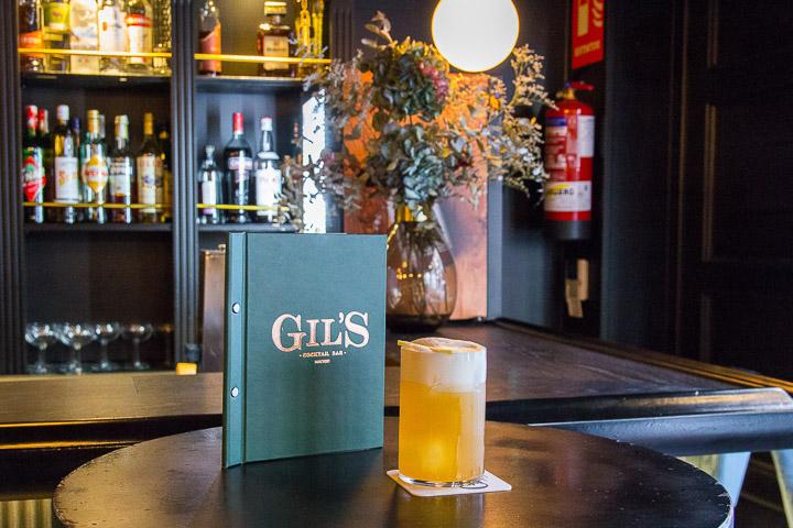 Gils Cocktail Bar, una coctelería muy british en Chamberí
