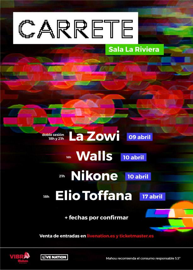 Carrete devuelve a Madrid los sonidos urbanos