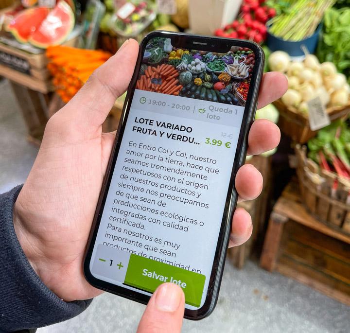 Encantado de comerte, la app que salva la comida y el medio ambiente