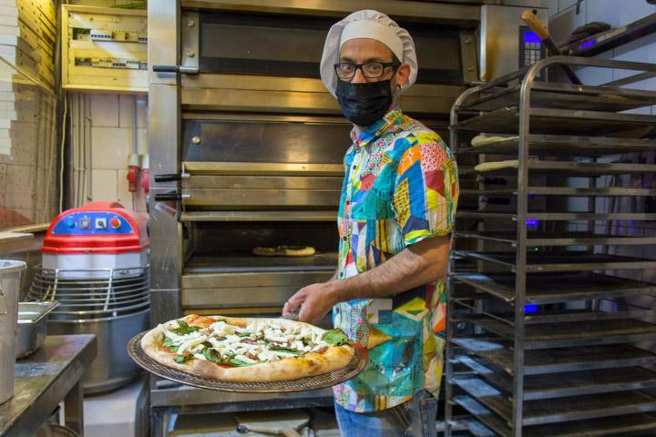 PANDOME Pizza Horno Mercado Tirso de Molina