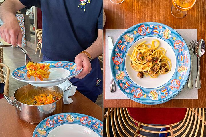 La Tavernetta del Pirata, la pasta como de verdad gusta en Italia
