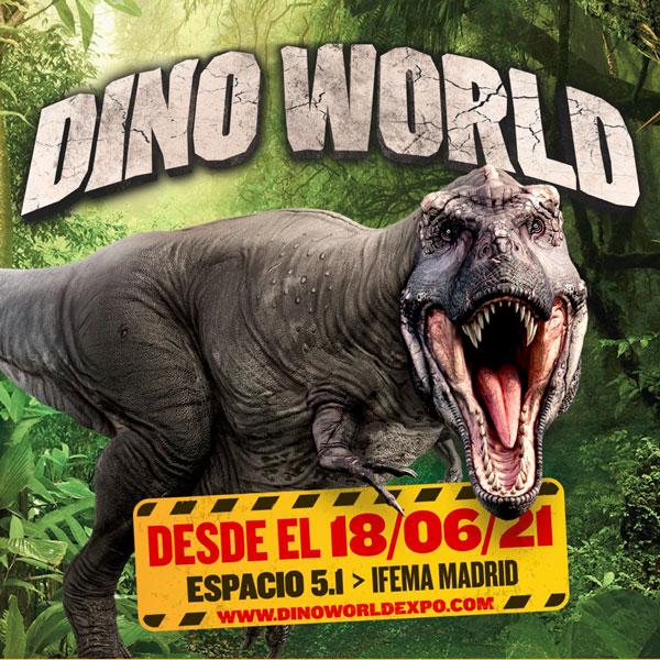 Dino World, los dinosaurios toman IFEMA este verano