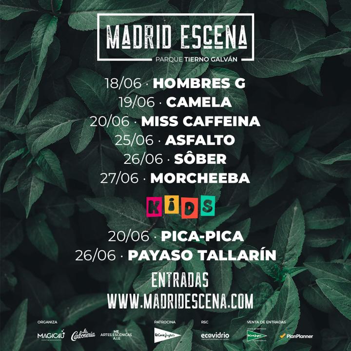 Madrid a Escena llena de música el Tierno Galván