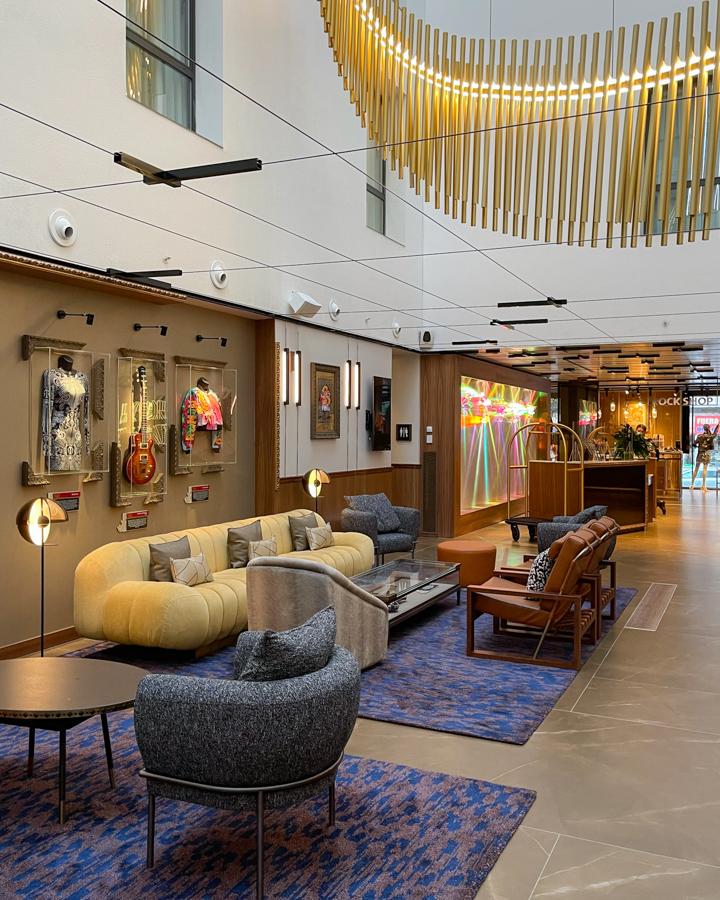 HARD ROCK el hotel donde se citan música, arte y gastronomía