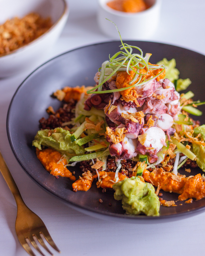 Kraken Bowl, bowls saludables pero repletos de sabor