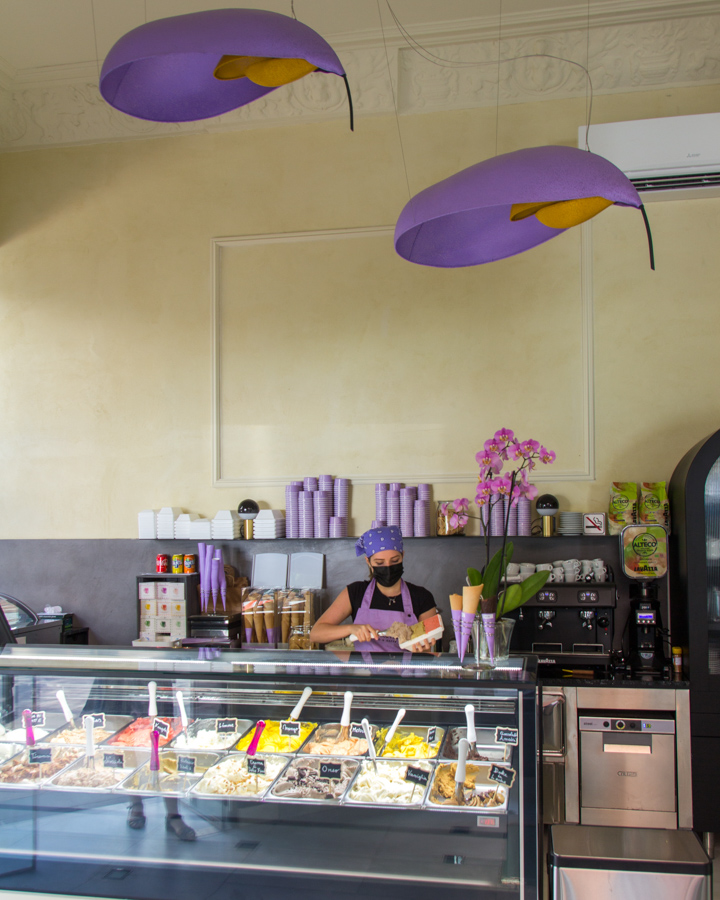 La Dolce Fina, la heladería italo-argentina que levanta pasiones en Madrid