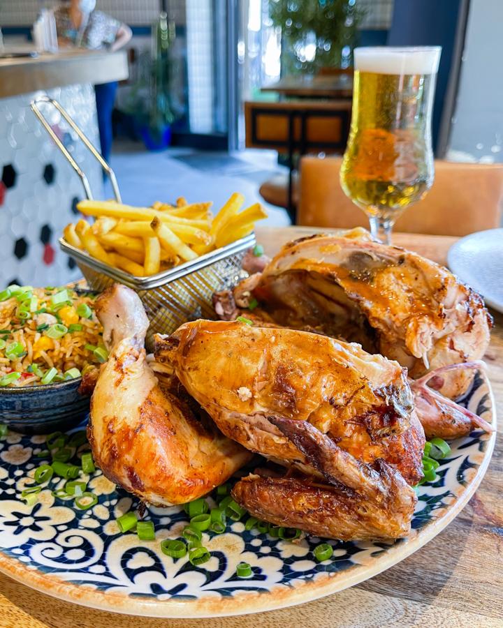 El Día Mundial del Pollo a la Brasa, sin duda, en Le Coq