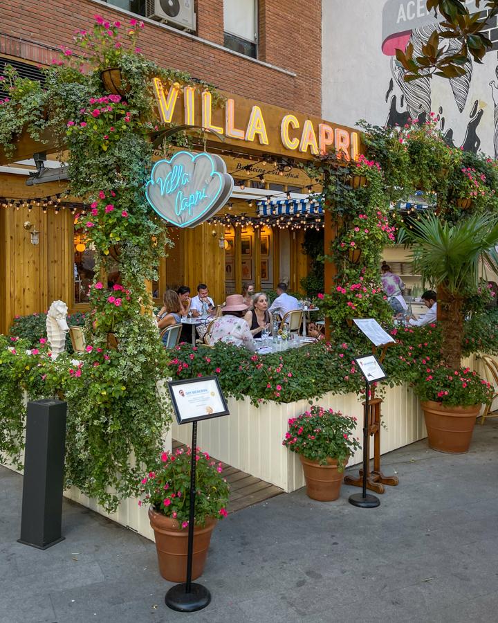 Villa Capri, el deslumbrante italiano que nos lleva al sur de Italia