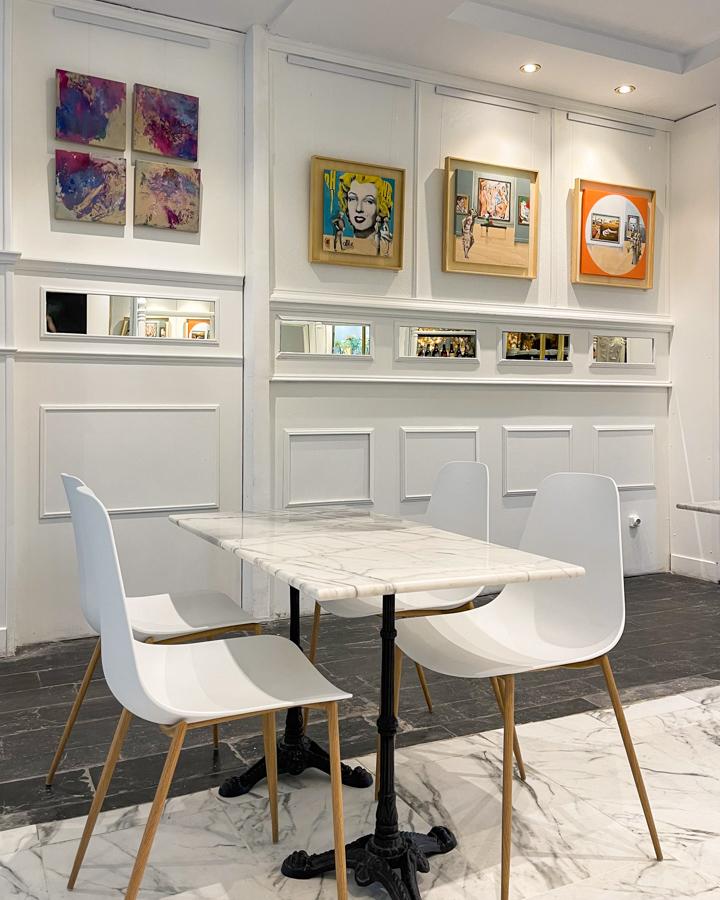 GALERÍA SARA CASO café y galeria de arte