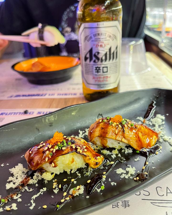 Running Sushi in Market, el Mercado de Tsukiji ahora en Madrid