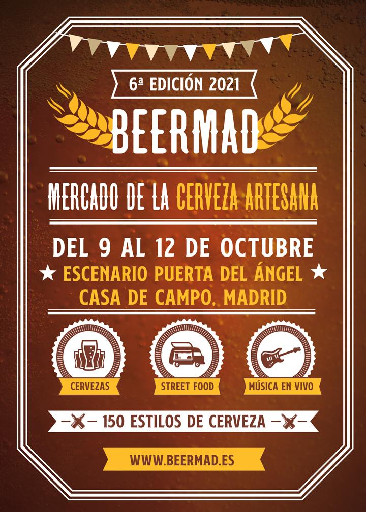 BeerMad 2021, vuelve la gran feria de la cerveza artesana